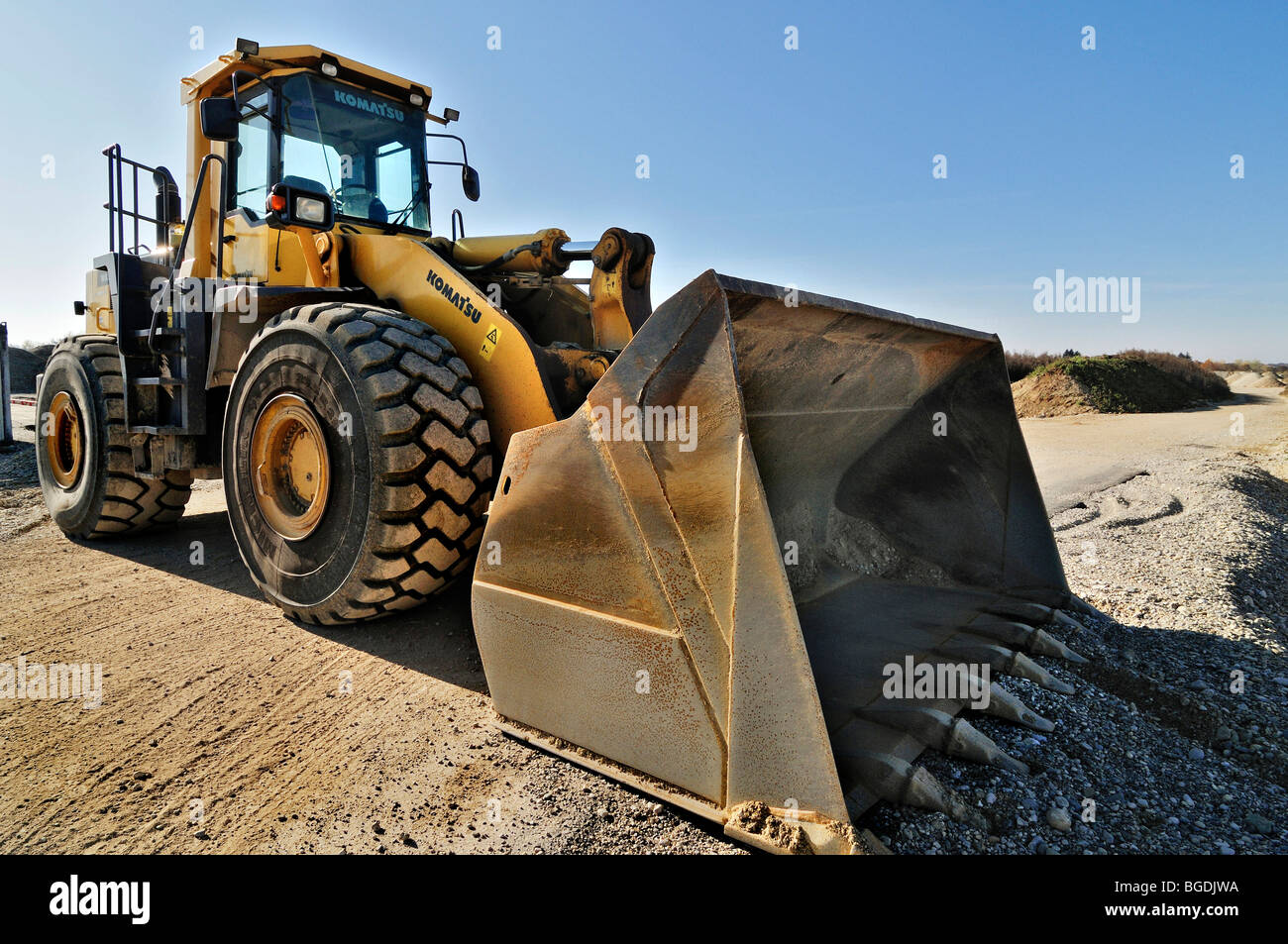 Front loader, Germany, Europe - Stock Image