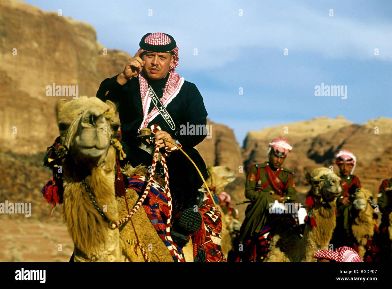 king-abdullah-ii-of-jordan-in-wadi-rum-BGDPK7.jpg