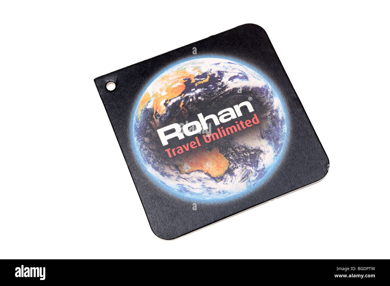 Rohan clothing label - Stock Image