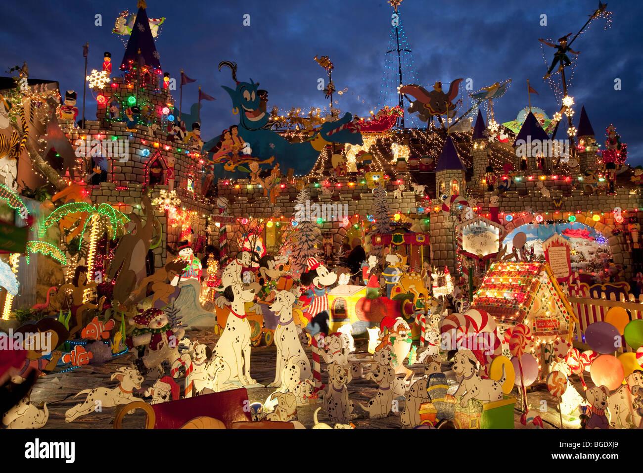 Christmas Yard Decorations.Christmas Yard Decorations Stock Photos Christmas Yard