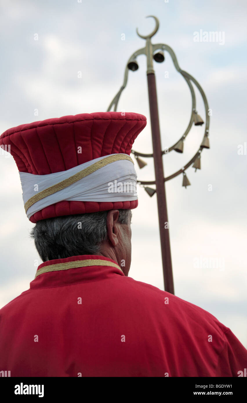 Ottoman Military Band Member Stock Photo