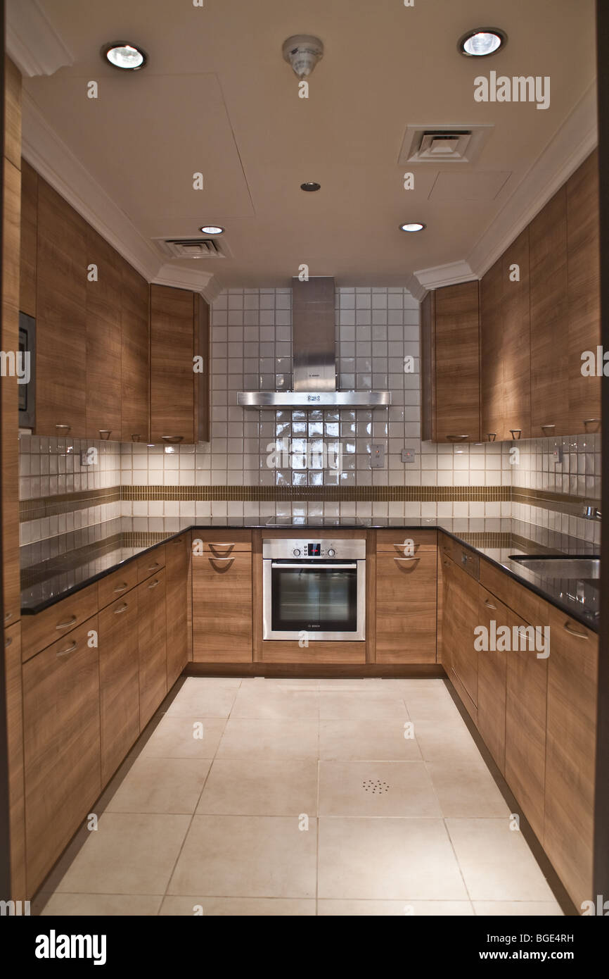 Beau Kitchen Modern Apartment Home Oven Stove Cabinets Tile Living Cook Food