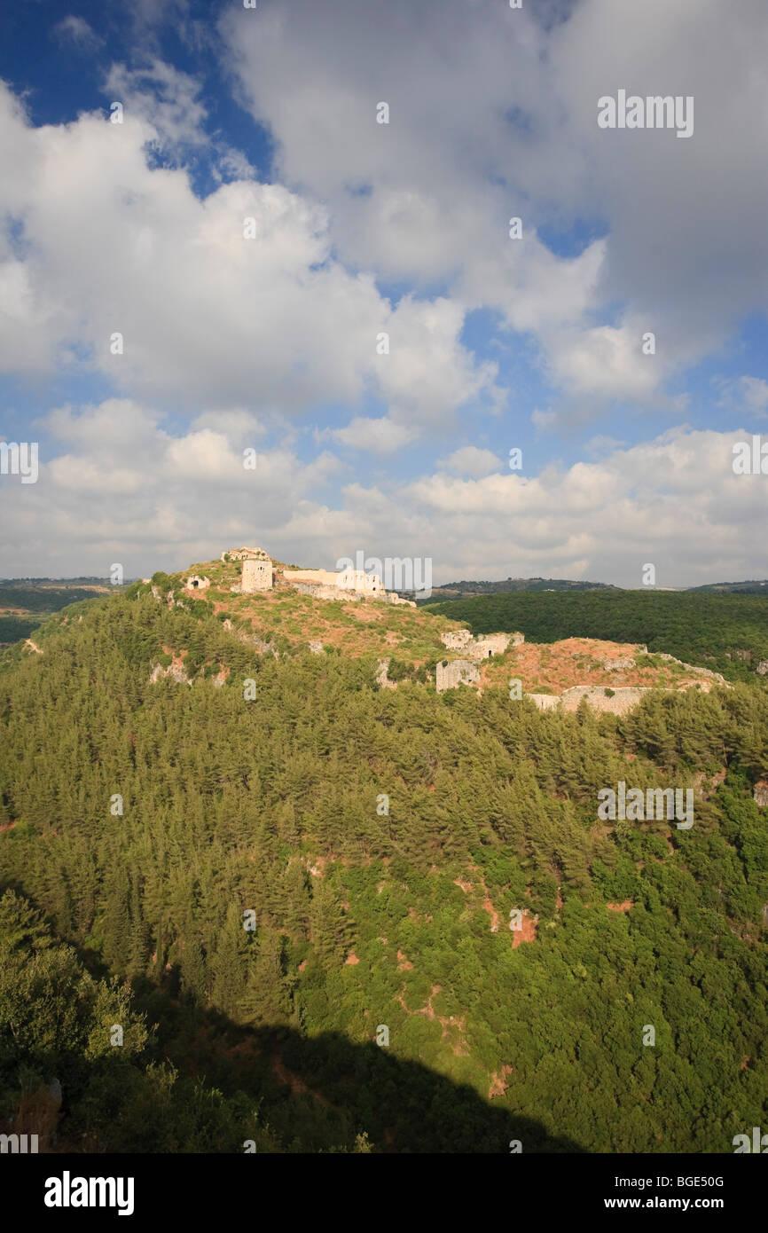 Syria, Northern Coast, Qalaat Salah ad Din (Saladin Crusader Castle) - Stock Image