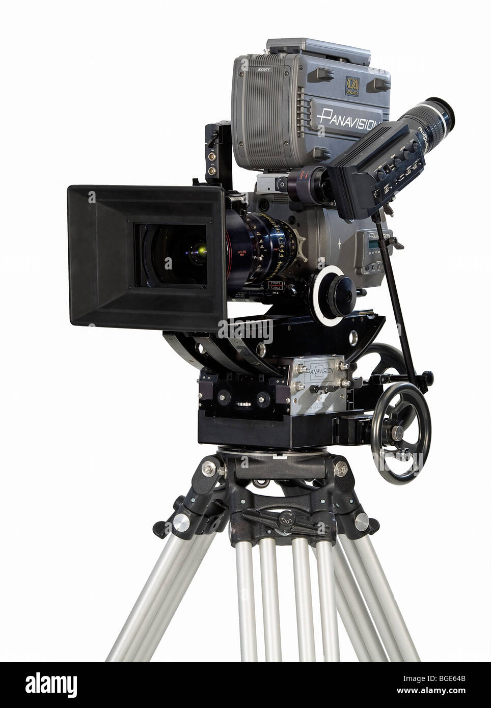 Studio Product Shot Of A Panavision Genesis Modern Digital Movie Camera