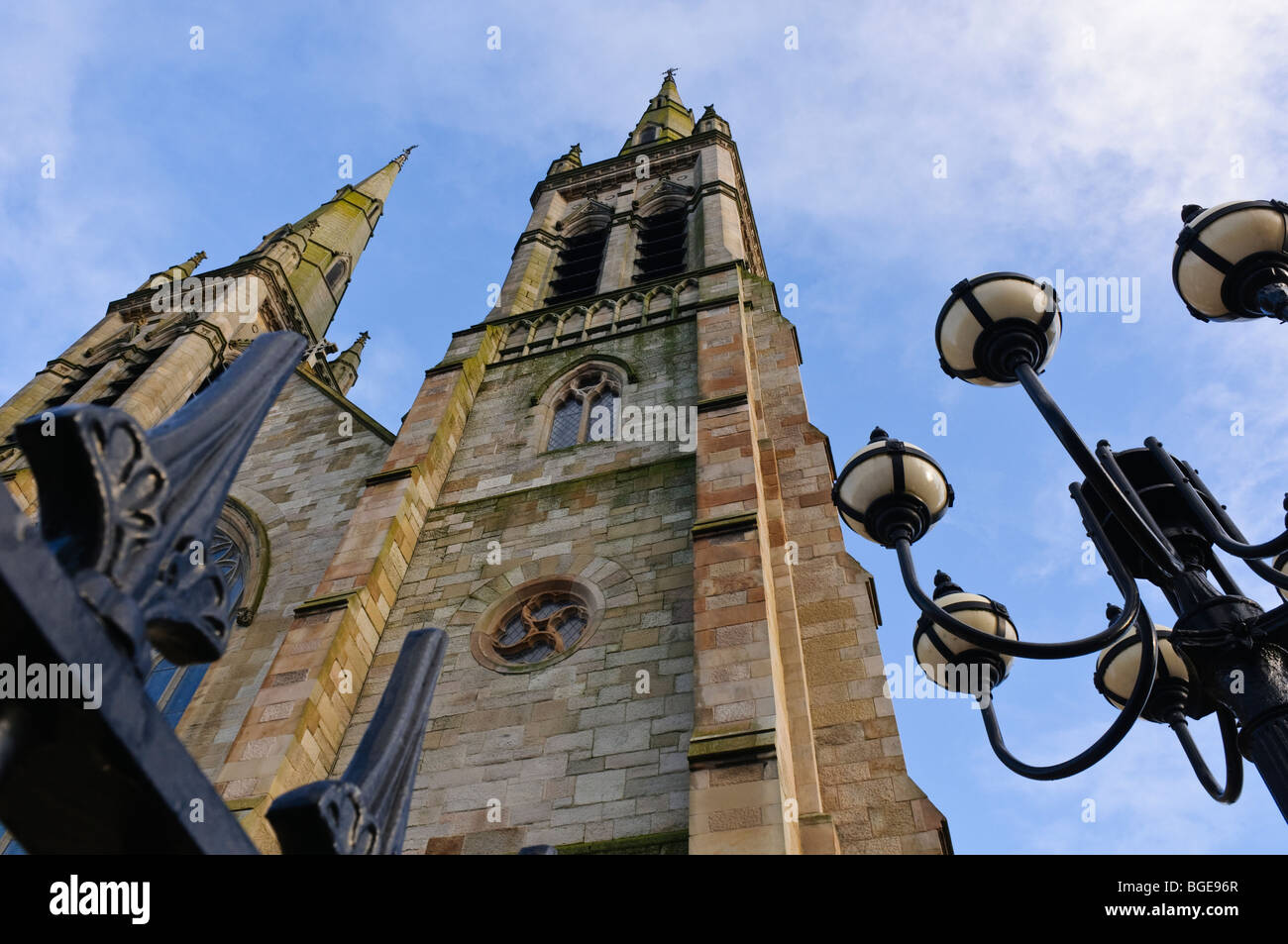Saint Peter's Cathedral, West Belfast, Northern Ireland - Stock Image