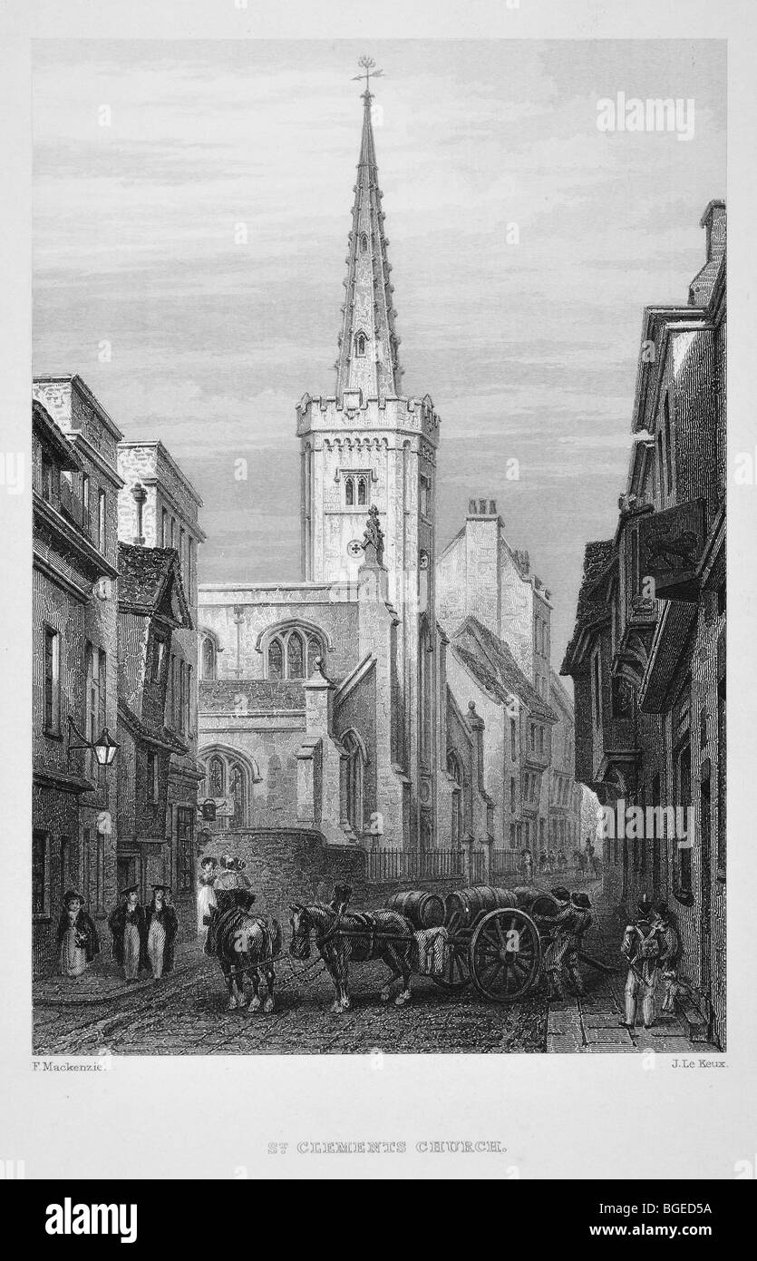St Clement's Church - Stock Image