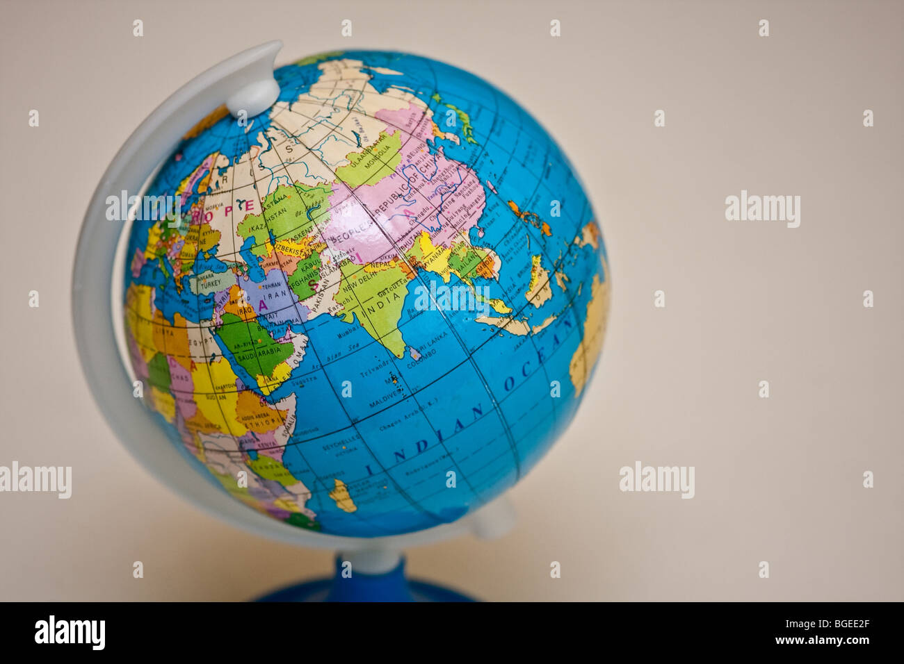 globe world map toy earth planet - Stock Image