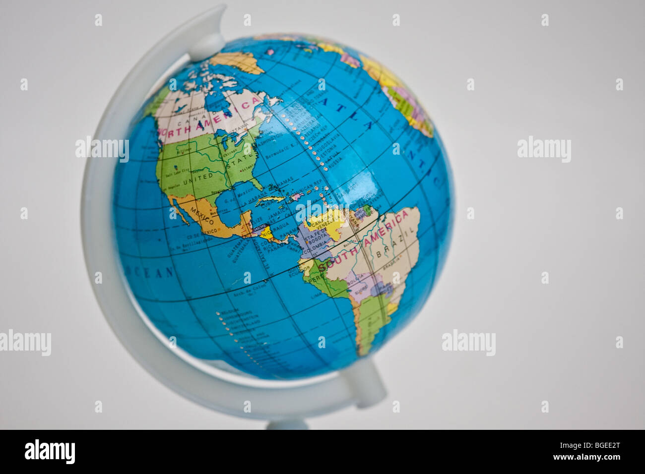 Globe showing the north and south america including canada united globe showing the north and south america including canada united states mexico brazil and other latin america countries gumiabroncs Images