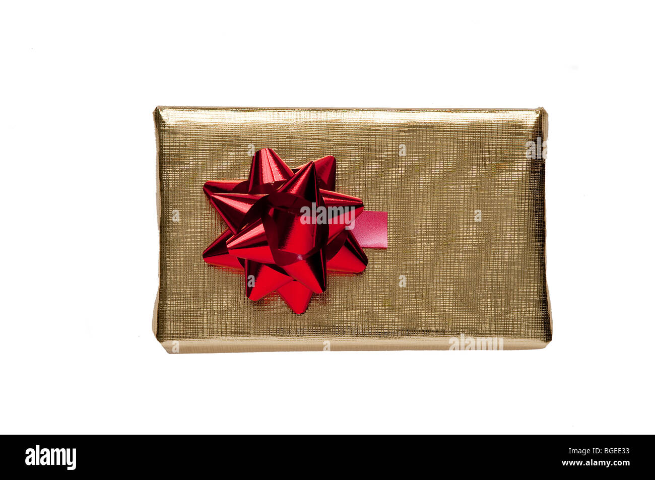 Christmas gift packets - Stock Image