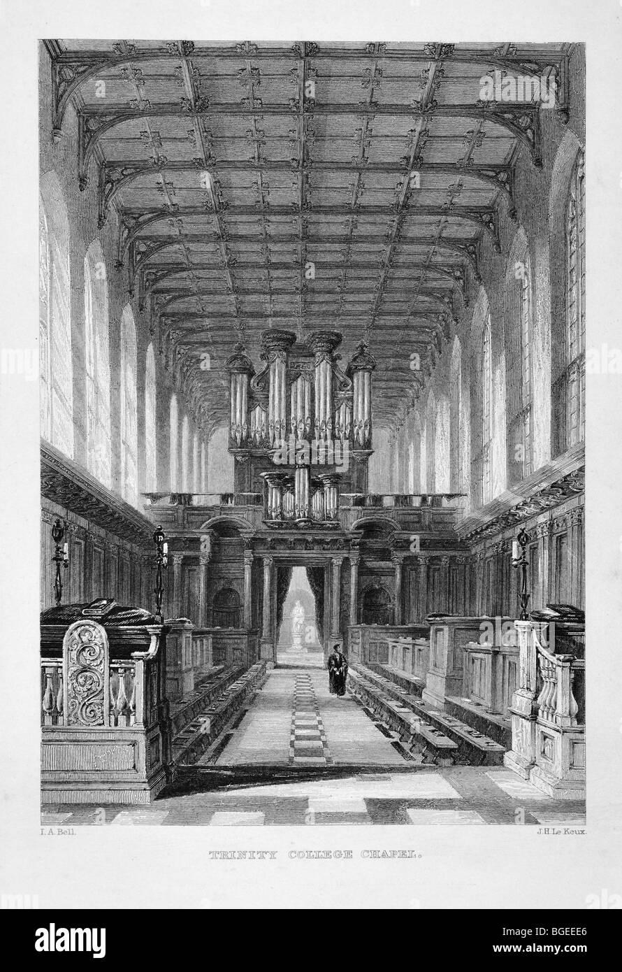 Trinity College Chapel Stock Photo