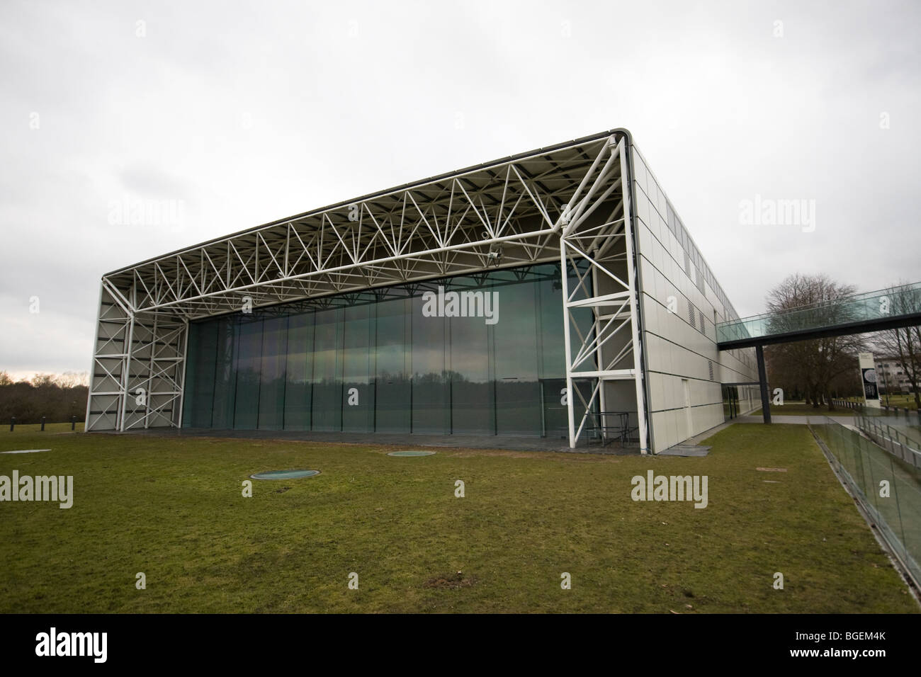 Around the Sainsbury Center for Visual Arts at the UEA Norwich, in Norfolk - Stock Image