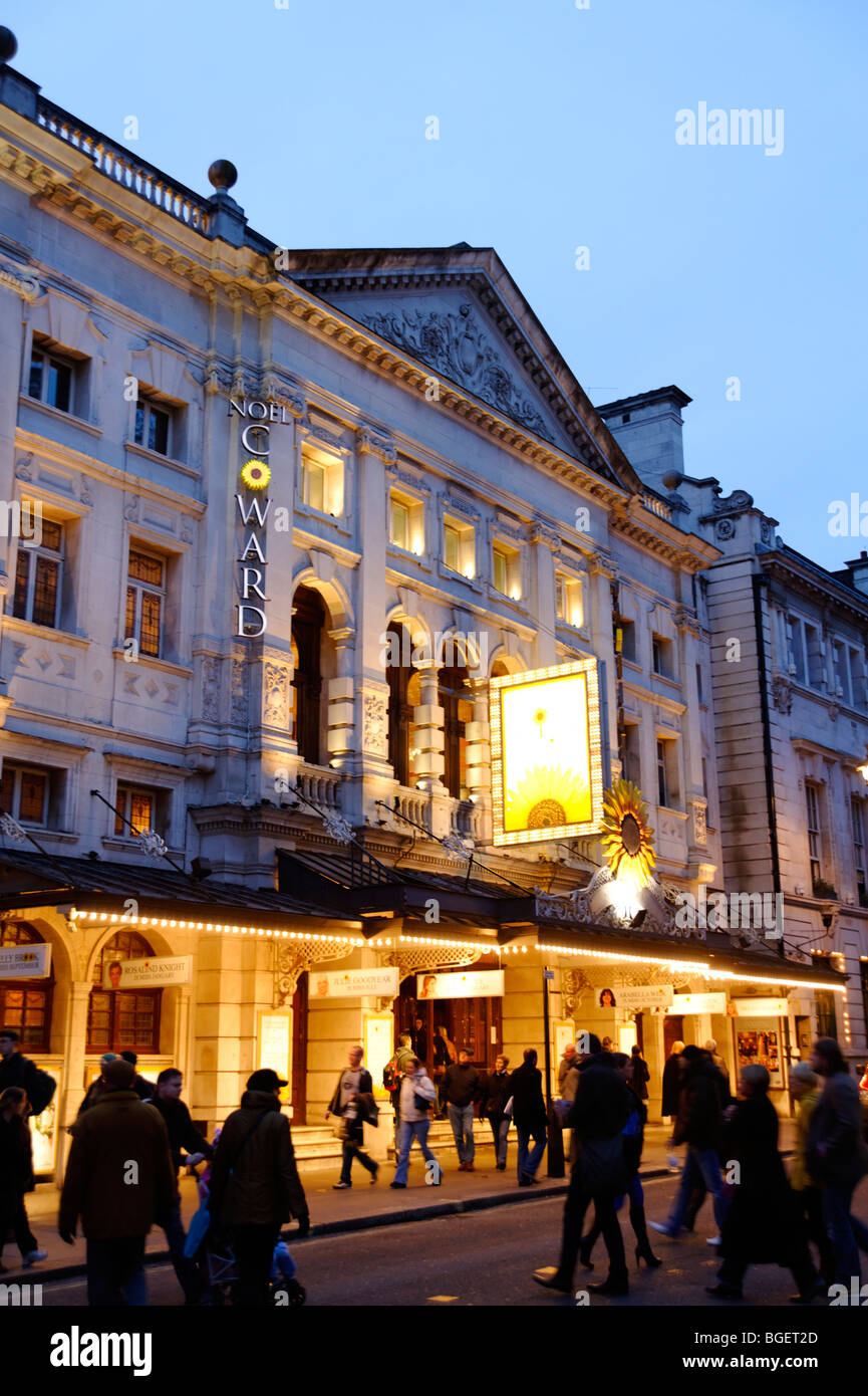 Noel Coward theatre. London. UK 2009. - Stock Image