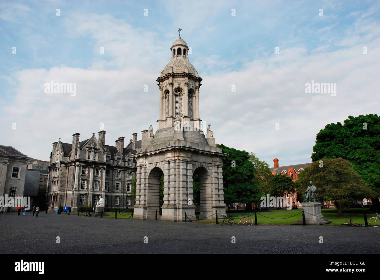 Trinity College, Dublin, Ireland - Stock Image
