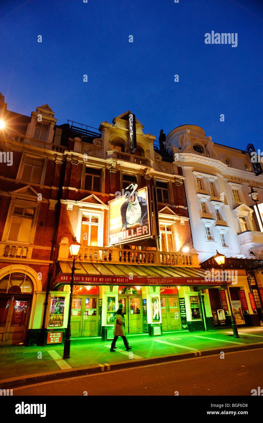 The Lyric theatre. London. UK 2009 - Stock Image