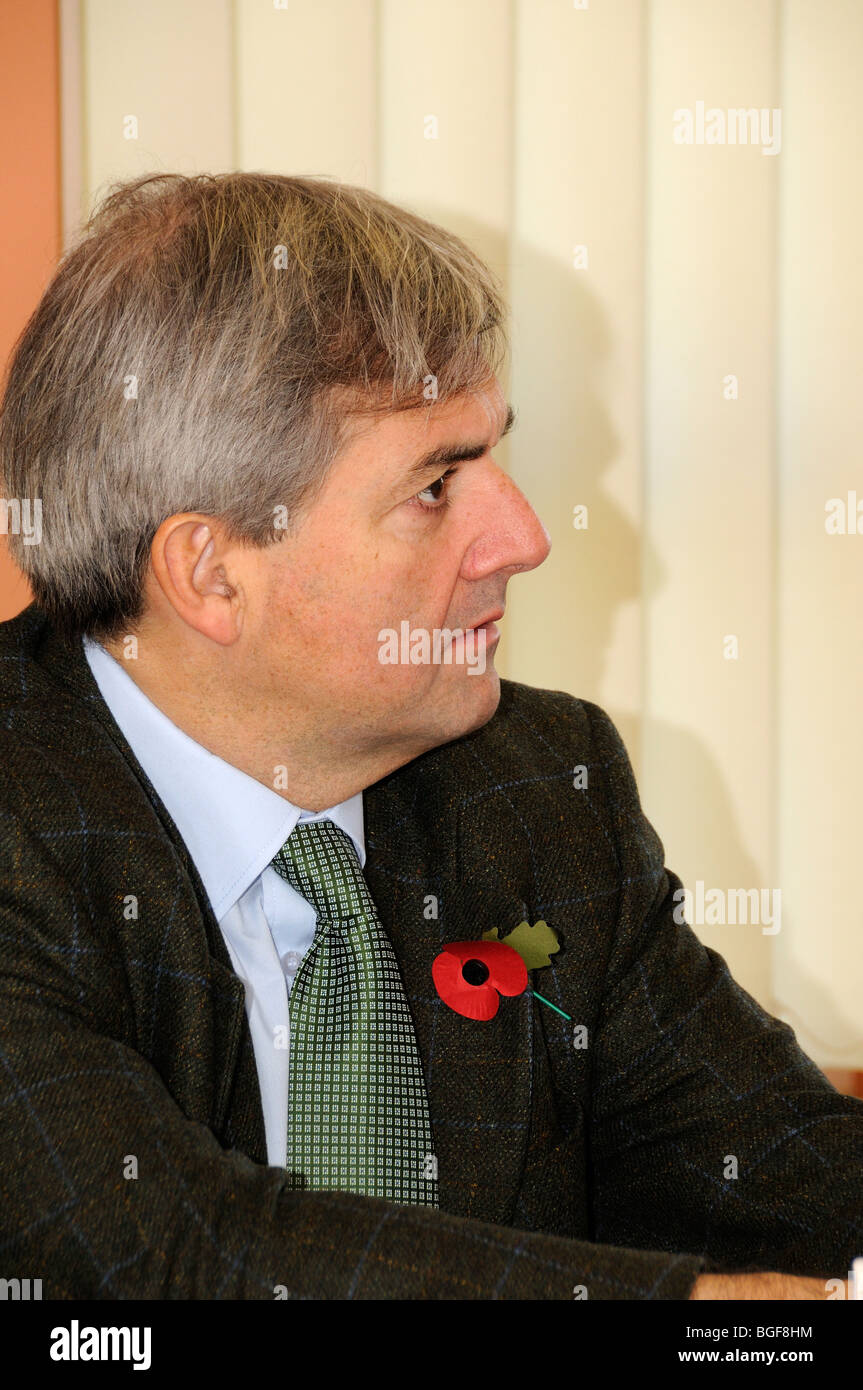 Chris Huhne Lib Dem MP for Eastleigh - Stock Image