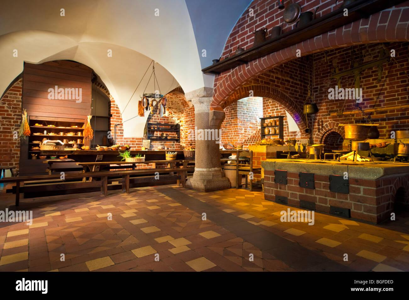 Kitchen In Teutonic Knights Castle Malbork Nogat River