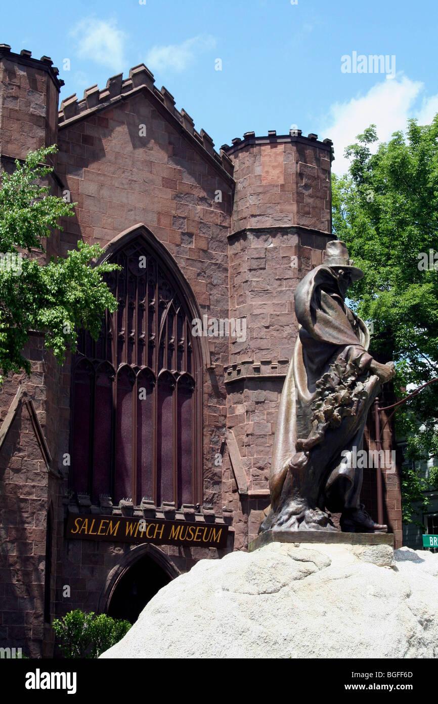 Salem Witch Museum Massachusetts Usa Stock Photo Alamy