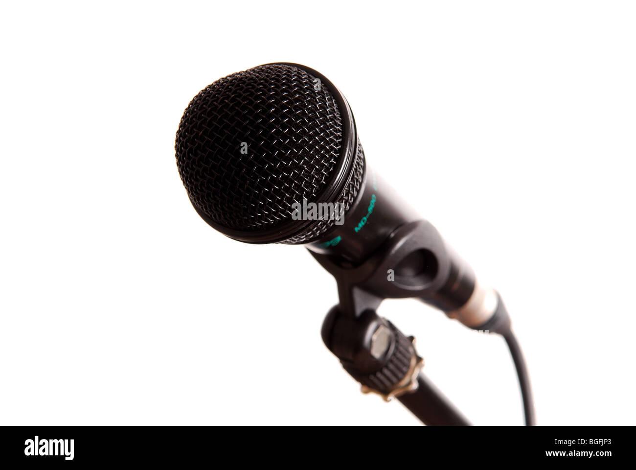 Microphone. - Stock Image