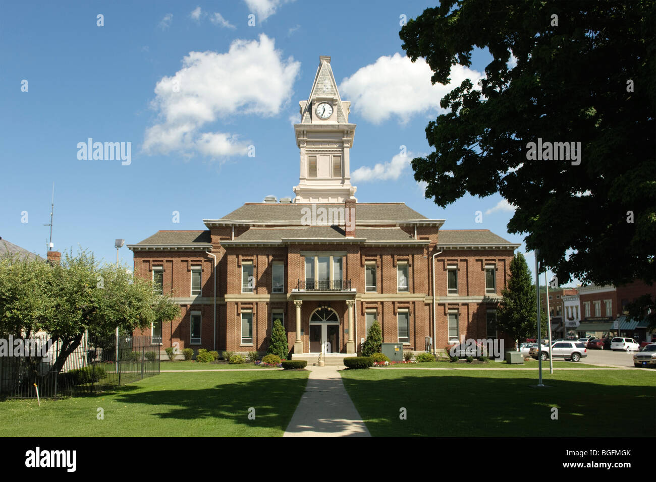 Carroll County Courthouse in Carrollton Kentucky Stock Photo