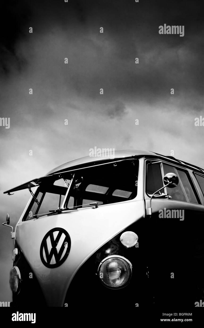 VW Splitscreen Camper - Stock Image