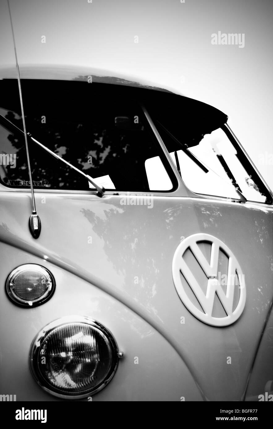 VW Camper Splitcreen - Stock Image
