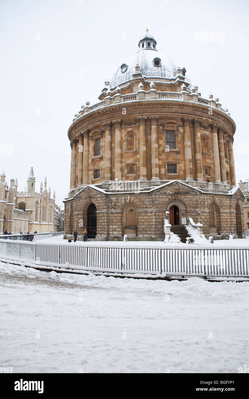 The Radcliffe Camera, Radcliffe Square Oxford - Stock Image