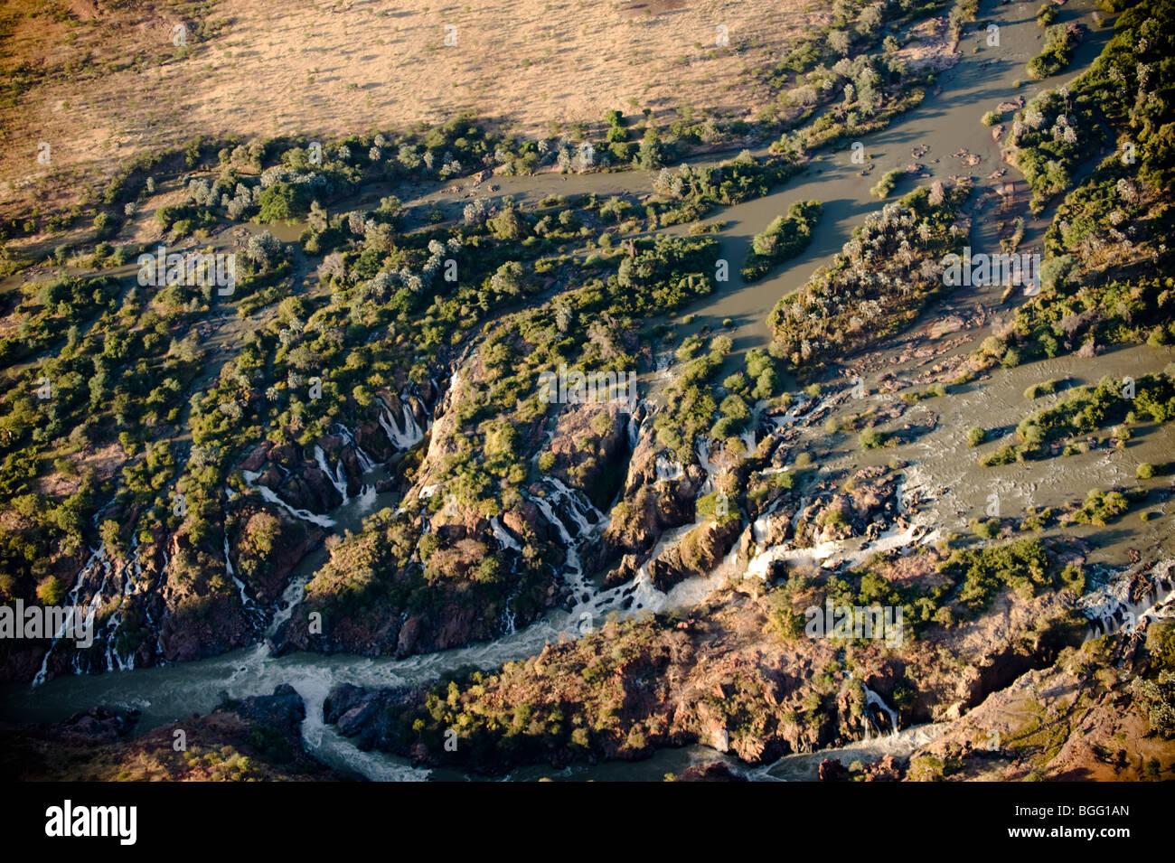 Epupa falls, Kunene river - Stock Image
