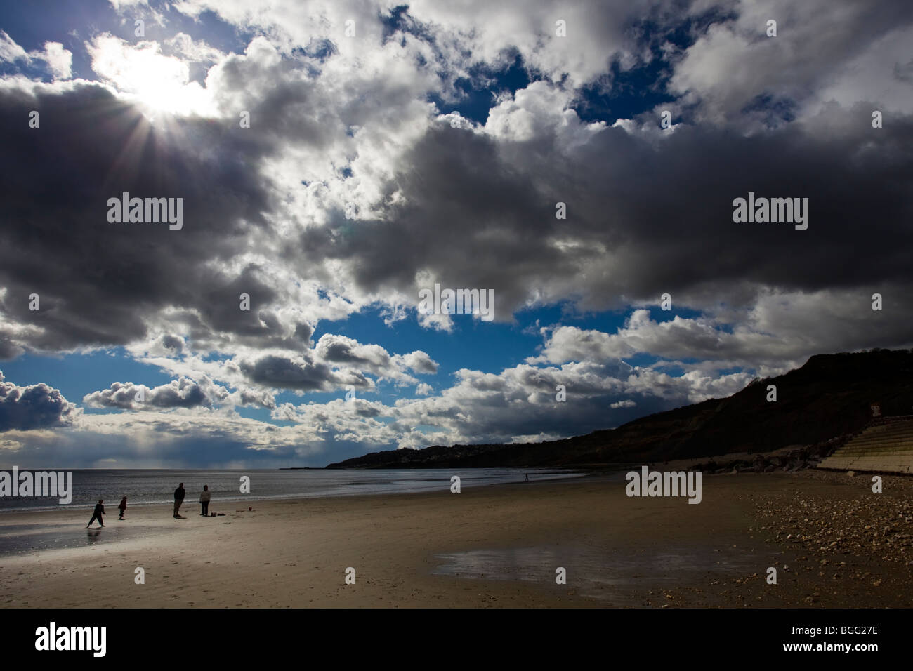 Charmouth beach, Dorest, UK - Stock Image