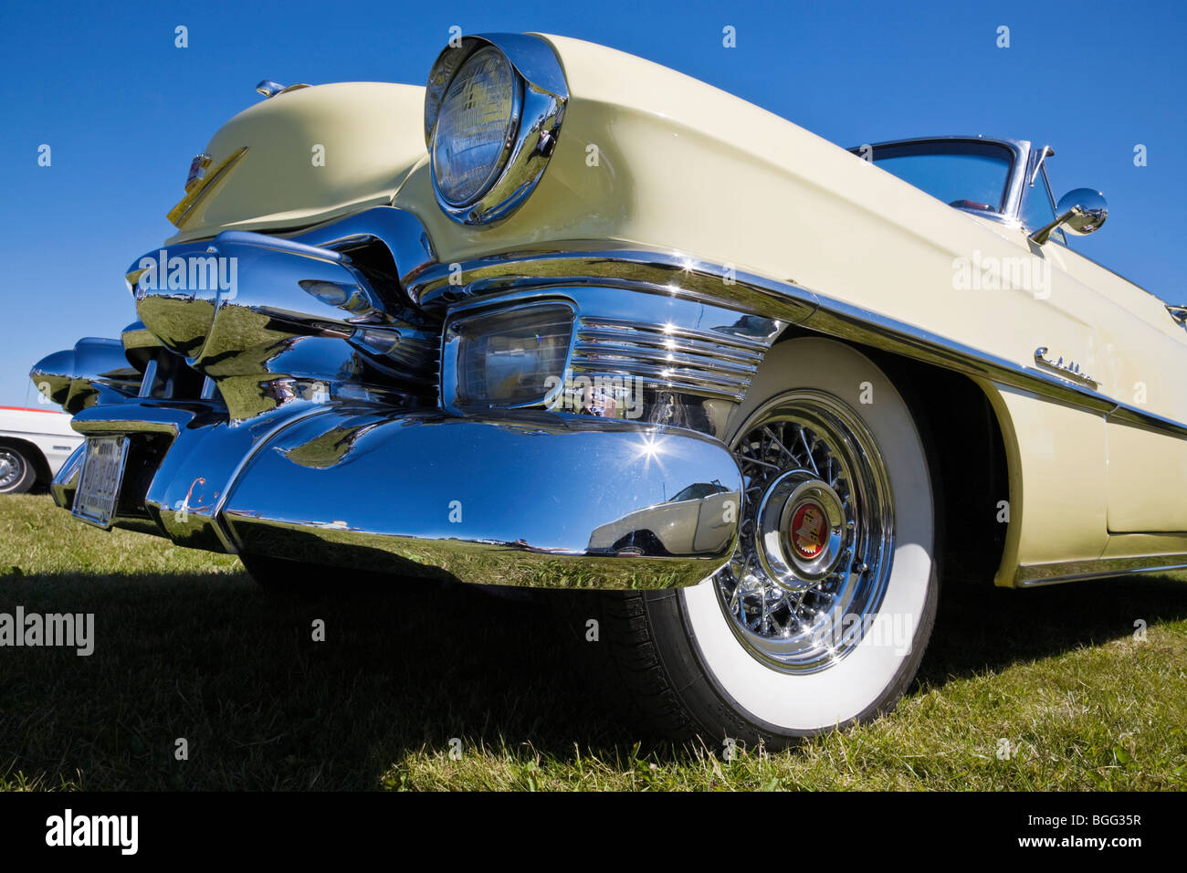 An old Cadillac from the 50s - Stock Image