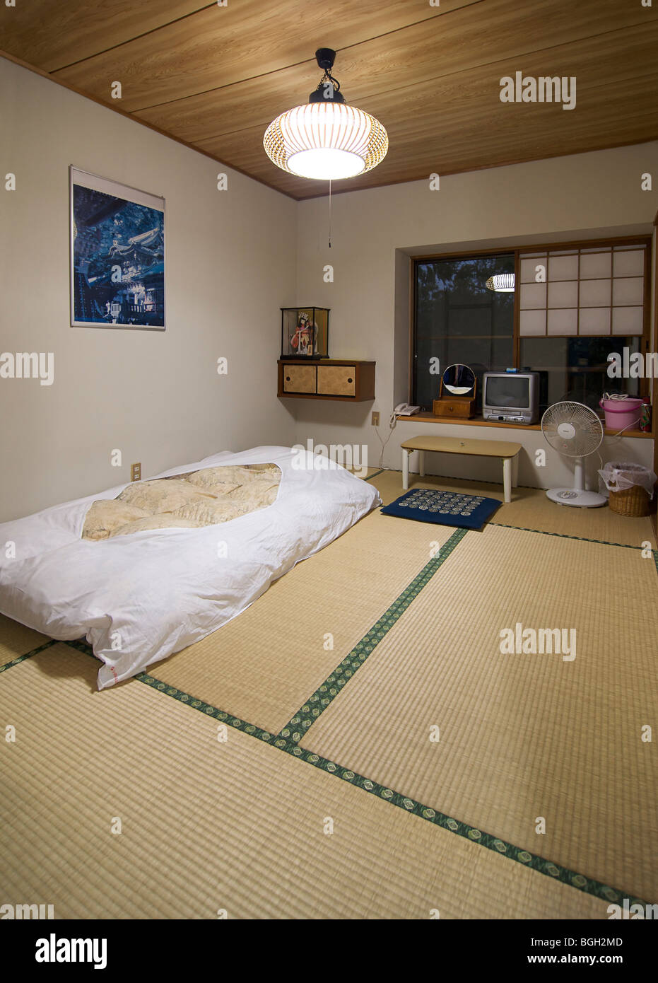 Fuji Hakone Guesthouse, Hakone, Japan - Stock Image