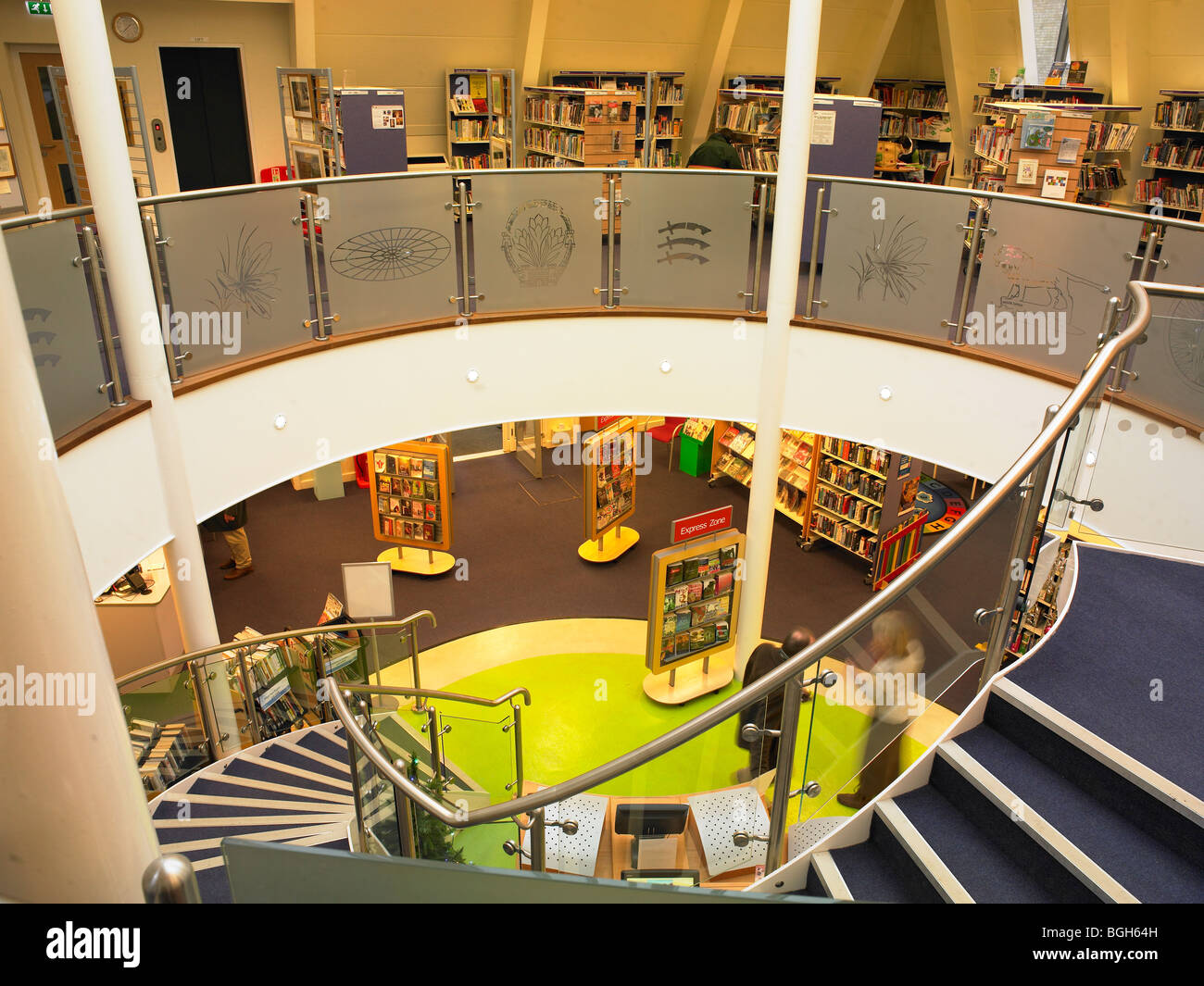 Public Library - Stock Image