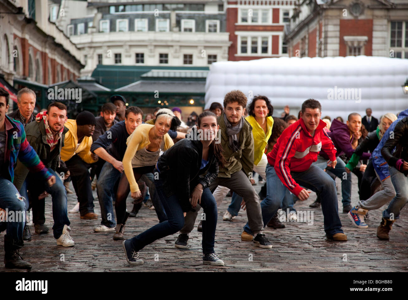 Flash Mob Stock Photos & Flash Mob Stock Images - Alamy