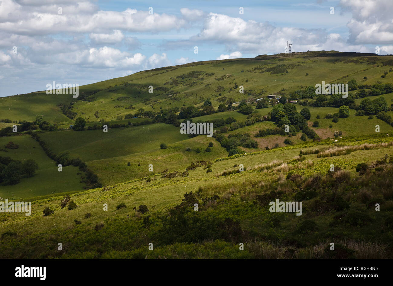 Abdon Burf, Brown Clee Hill, Shropshire - Stock Image