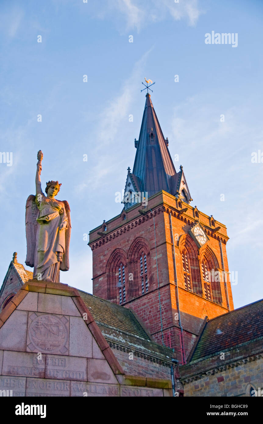 St Magnus Cathedral Kirkwall Mainland Orkney.  SCO 5812 - Stock Image