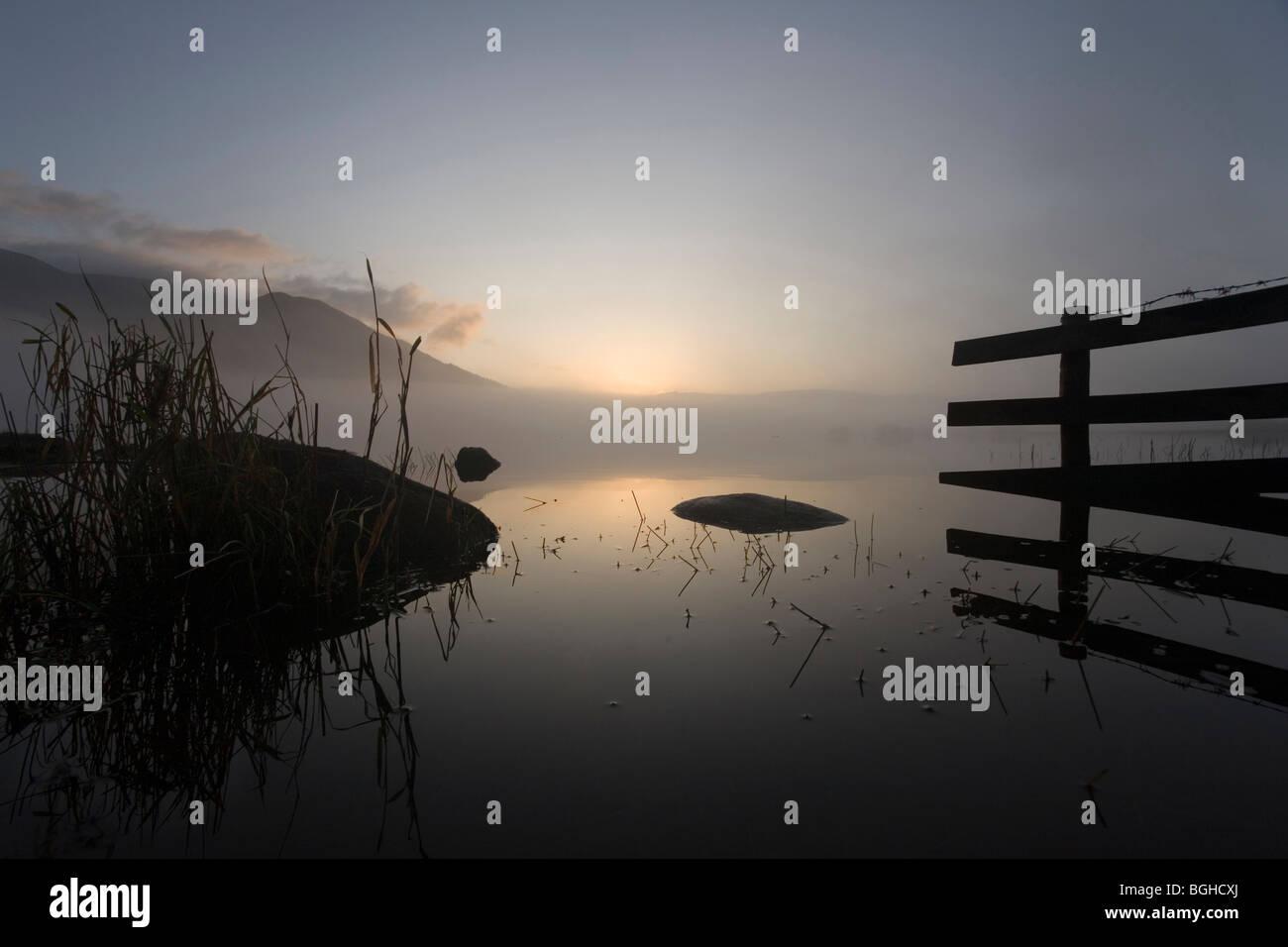 Bassenthwaite Lake, Cumbria, England - Stock Image