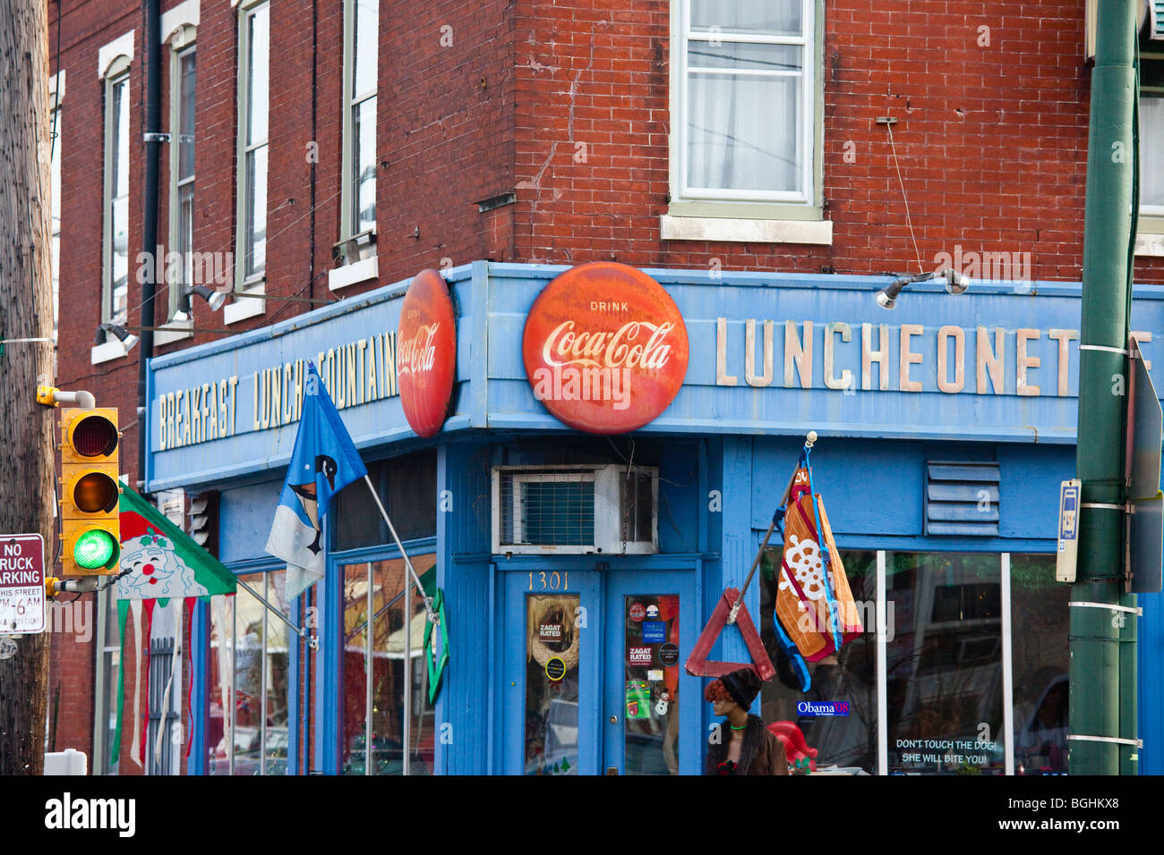 Luncheonette Stock Photos & Luncheonette Stock Images - Alamy
