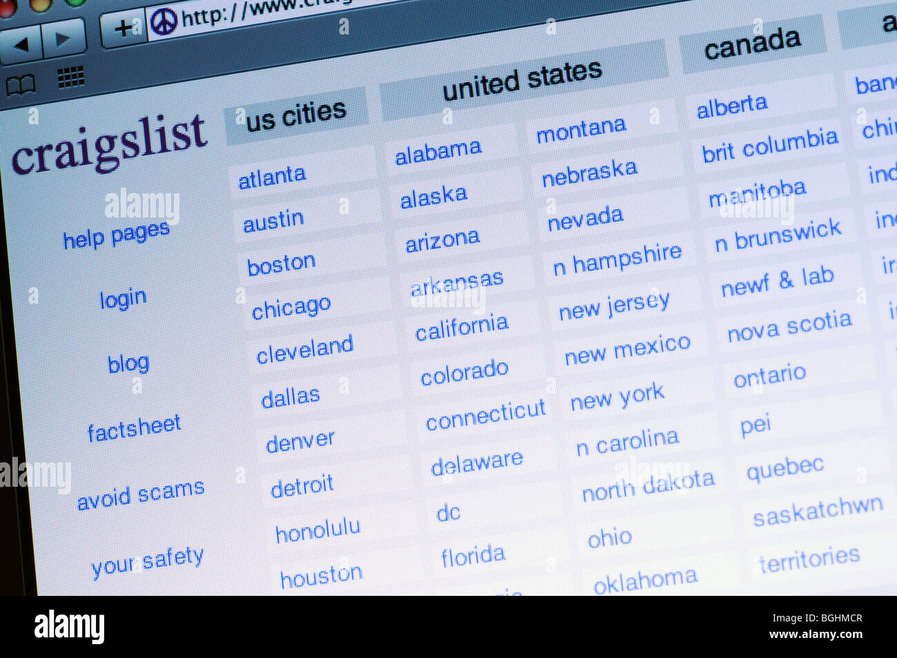 Craigslist Stock Photos & Craigslist Stock Images - Alamy