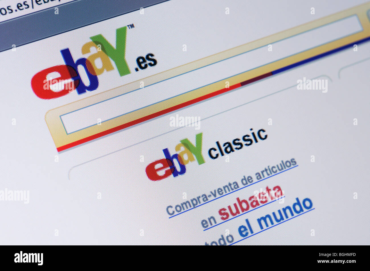 Ebay Web Site High Resolution Stock Photography And Images Alamy
