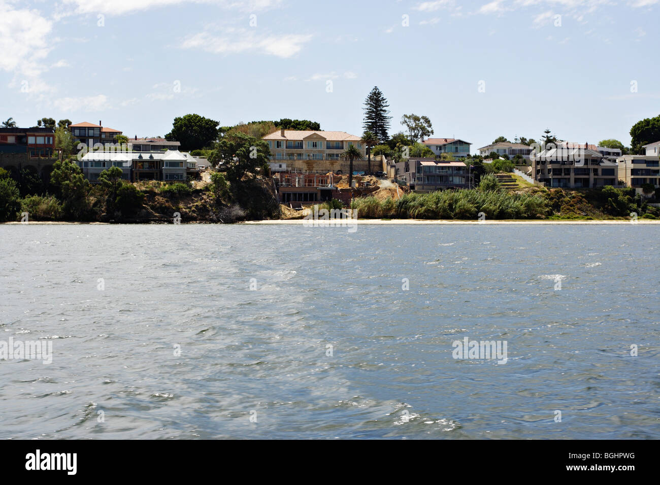 Exceptional Luxury Homes On The Bank Of Swan River Between Perth And Fremantle In  Western Australia.