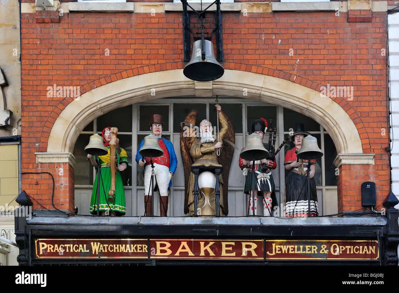 Baker's jeweller Shop in Gloucester - Stock Image