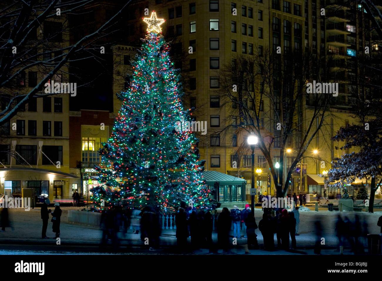 Christmas In Boston Massachusetts.Boston Christmas Stock Photos Boston Christmas Stock