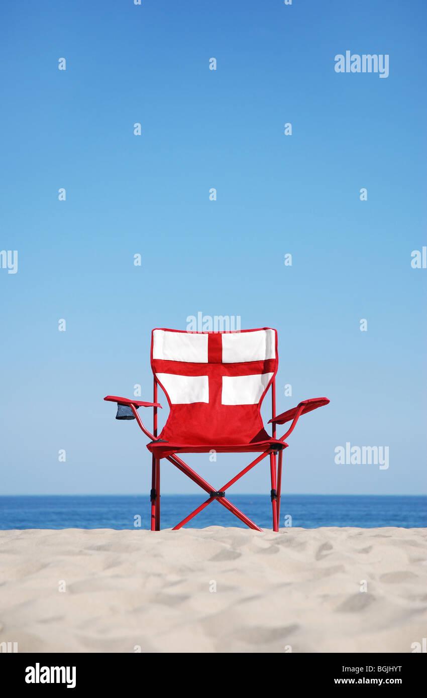 George Cross chair - Stock Image