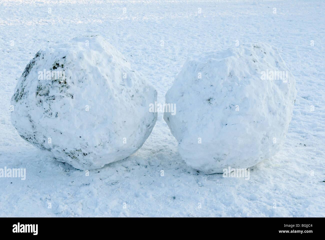 snowballs snowball - Stock Image
