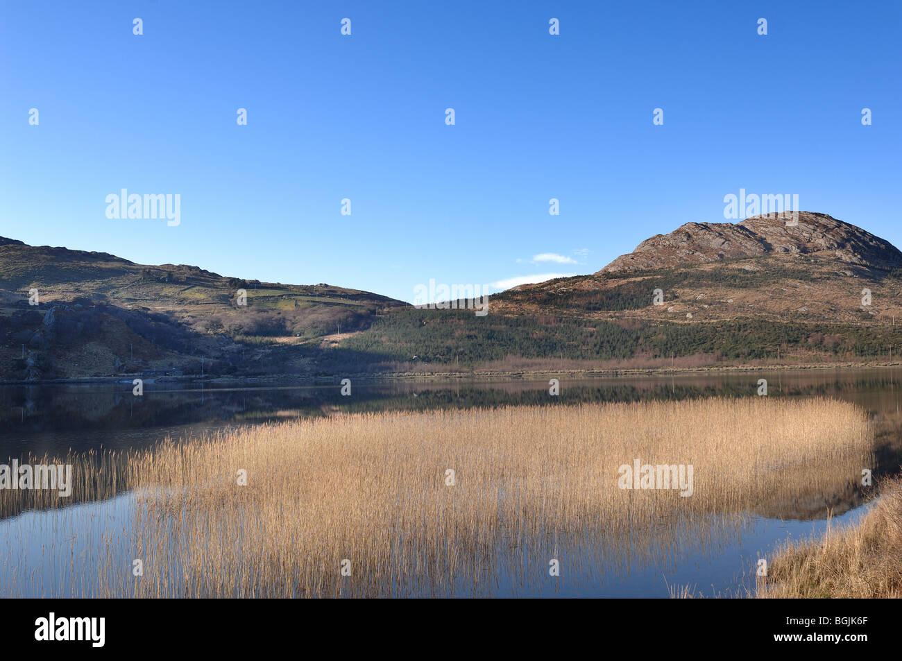 Glenbeg Lake - Stock Image