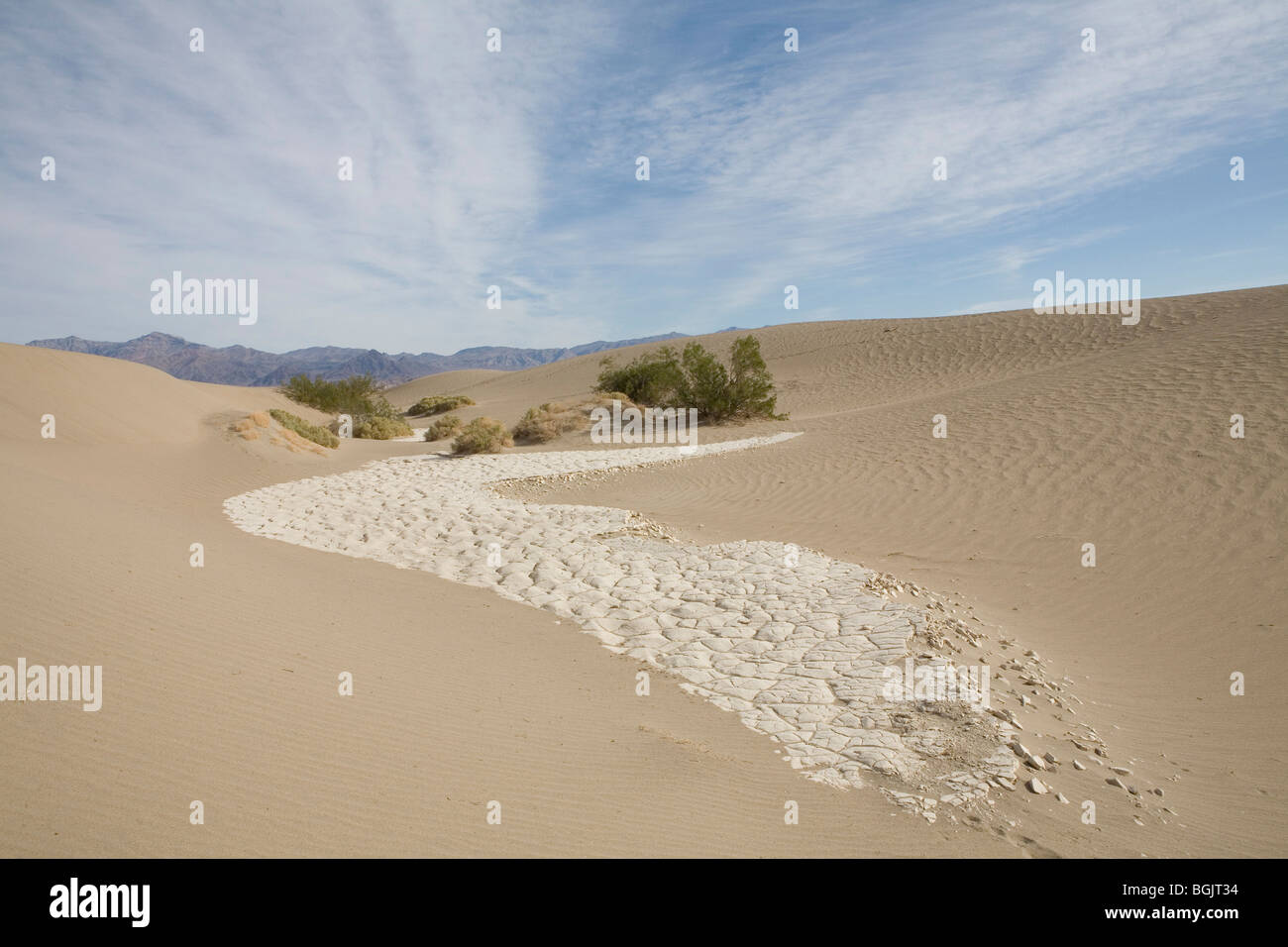 Death Valley National Park - Stock Image