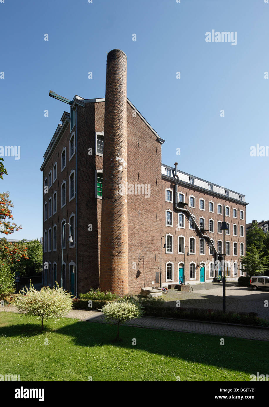 Aachen, Löhergraben 22, Barockfabrik, heute Kulturzentrum - Stock Image
