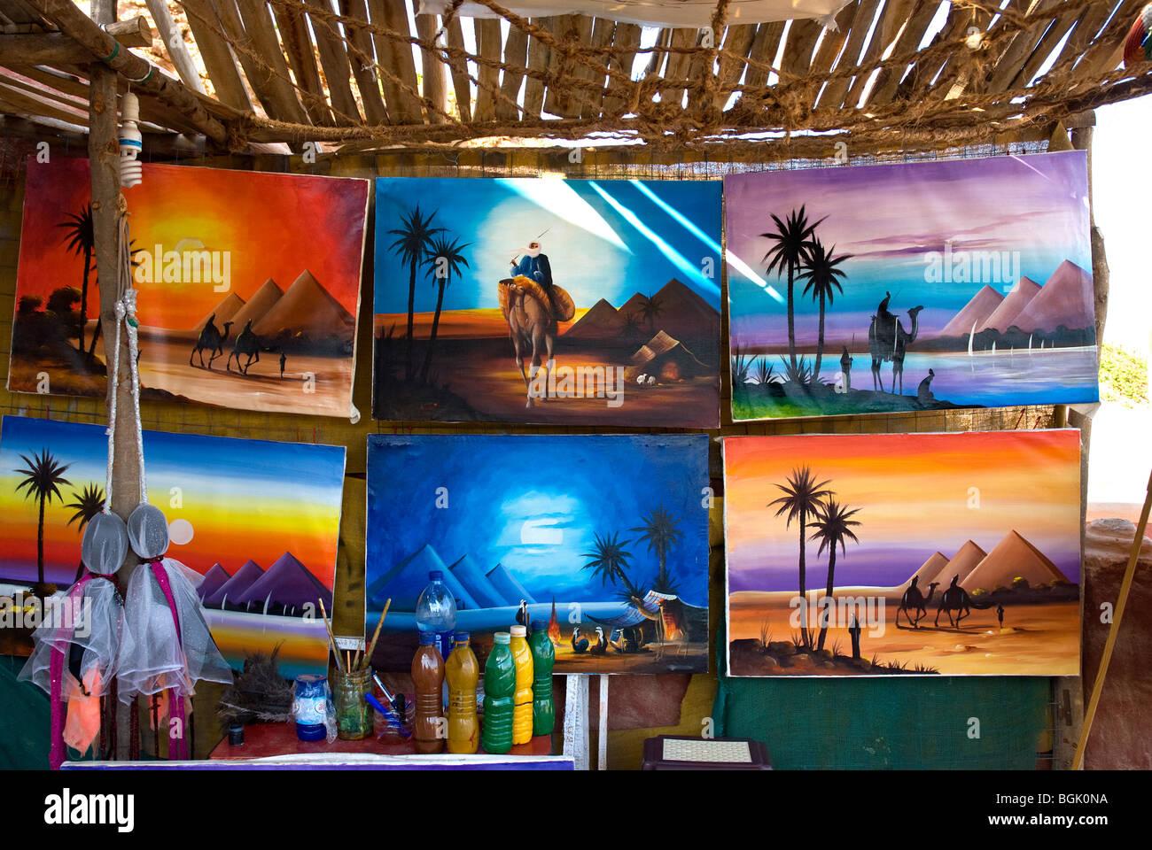 Souvenirs, Marsa Alam, Red Sea, Egypt - Stock Image