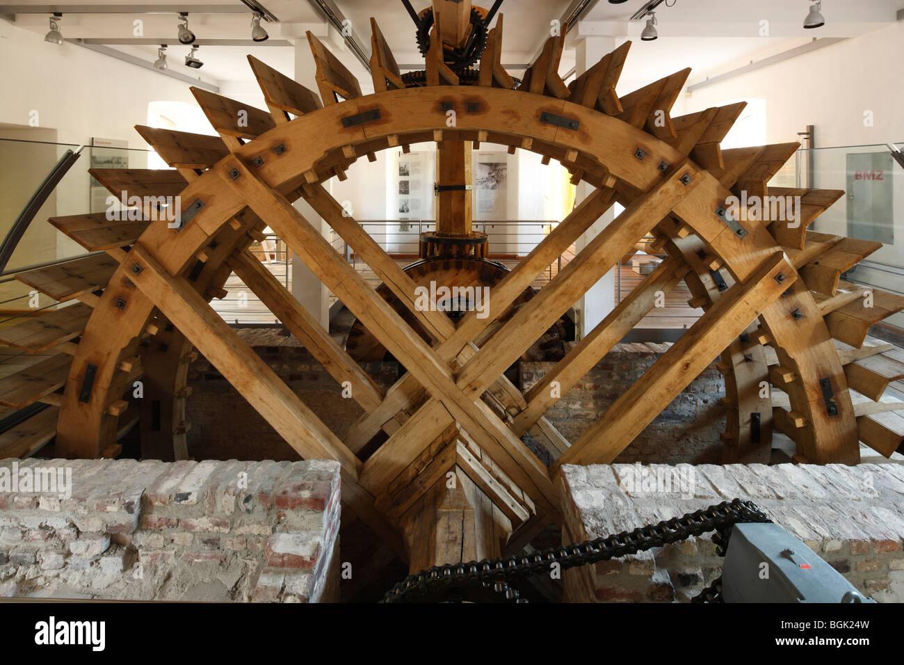 Ratingen, Industriemuseum Cromford, LVR-Industriemuseum, 1783 von Johann Gottfried Brügelmann gegründet, - Stock Image