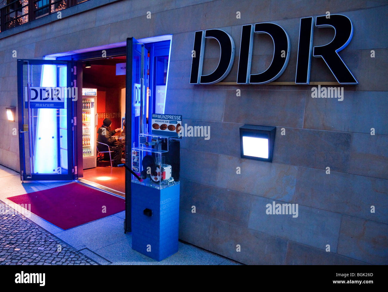 DDR Museum ( GDR Museum ); Museum of the old East Germany ( German Democratic Republic) , Berlin - Stock Image