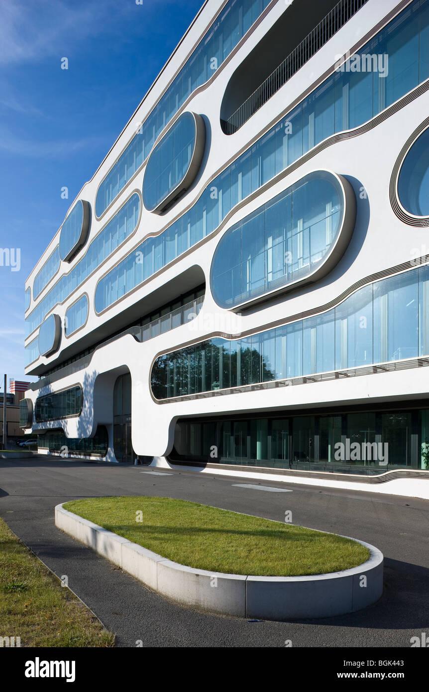 Hamburg, ADA1, Bürogebäude von J. Meyer H. An der Alster 1, Hamburg. 2006 Stock Photo